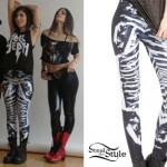 Yasmine Yousaf: Black & White Leggings