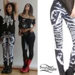Yasmine Yousaf: Black & White Leggings