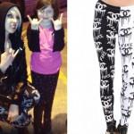 Brooklyn Allman: Fake Chanel Leggings