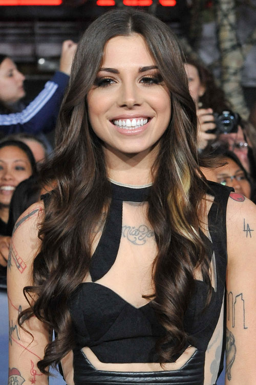 Christina Perri S Hairstyles Amp Hair Colors Steal Her Style