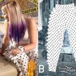 Colette Carr: Polka Dot Spike Sweatpants