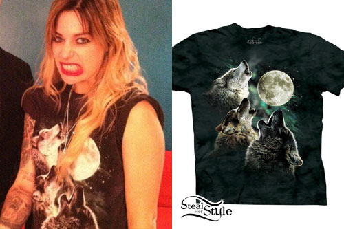 Gin Wigmore: Three Wolf Moon T-Shirt