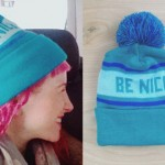 Hayley Williams: Blue Be Nice Beanie