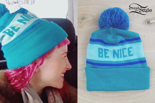 Hayley Williams: Blue Be Nice Beanie