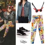Hayley Williams: Lava Printed Jeans