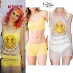 Hayley Williams: Plastic Bag Dress