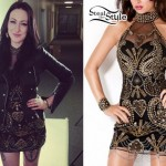 Jacqui Sandell: The Voice Battle Rounds Dress