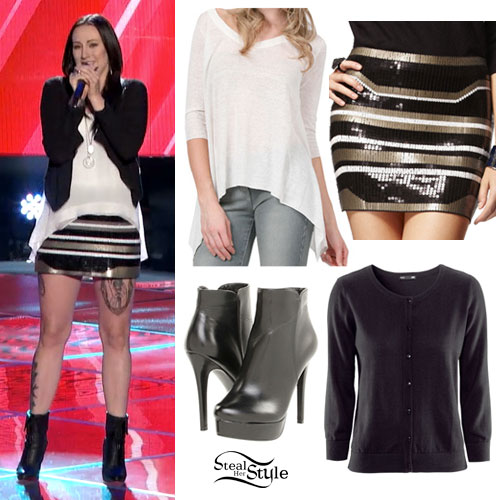 Jacqui Sandell: The Voice Auditions Outfit