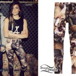 Jahan Yousaf: Wolf Print Leggings