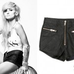 LIGHTS: Zipper Shorts
