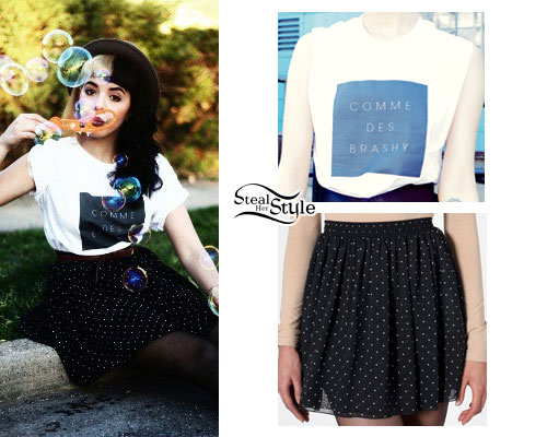 Melanie Martinez: Brashy Tee, Polka Dot Skirt
