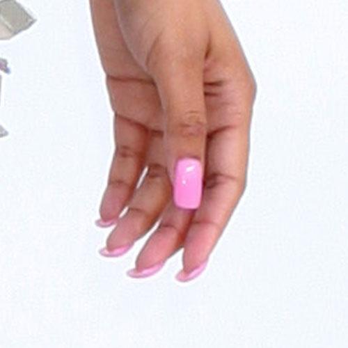 nicki minaj pink nails wwwpixsharkcom images
