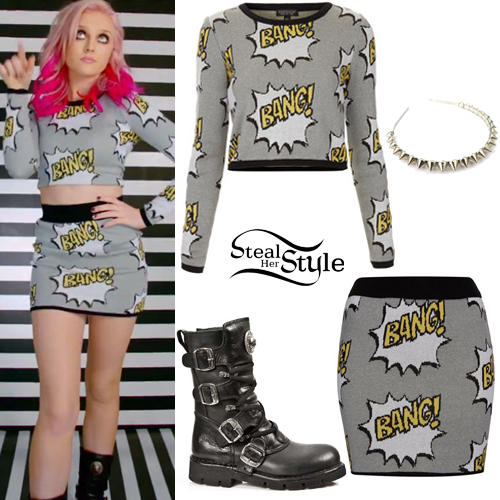 Perrie Edwards How Ya Doin Bang Outfit Steal Her Style