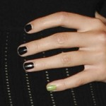 pixie-lott-nails-black-green