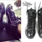 Rita Ora: Adidas Wings Sneakers