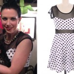Shawna Thompson: Mesh Polka Dot Dress
