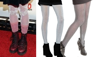 dc62f56c2 Hayley Williams  Sparkle Tights And Socks