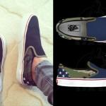 Tay Jardine: Custom Vans Slip-Ons
