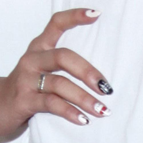 zendaya-nails-white-mixZendaya Nails 2012