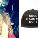 Ariana Grande: 'Coco Made Me Do It' Hat