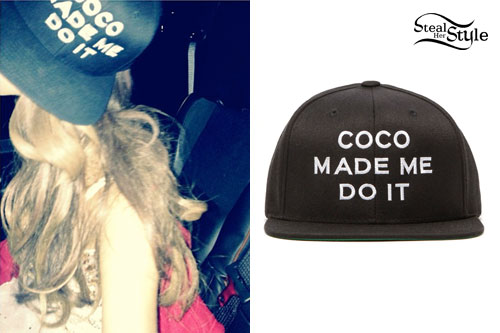 Ariana Grande: 'Coco Made Me Do It' Hat