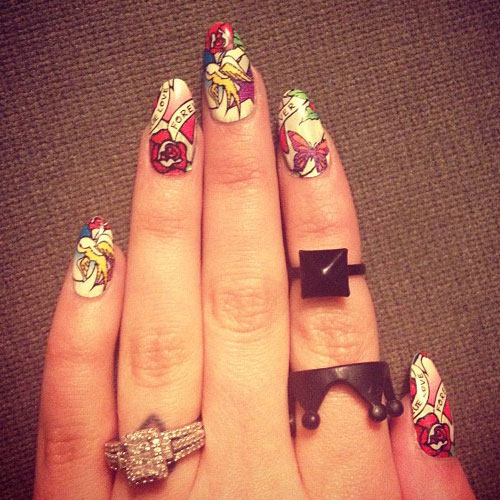Cher Lloyd Nails Steal Her Style