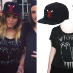 Jahan Yousaf: Witchery Tee, Chicago Bulls Hat