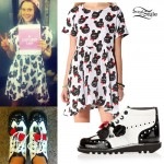 Kate Nash: Bear Print Dress