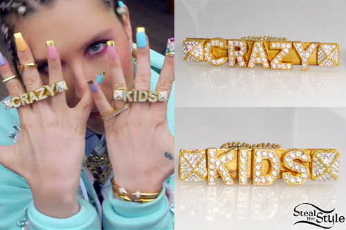 "Ke$ha in her ""Crazy Kids"" music video - youtube"