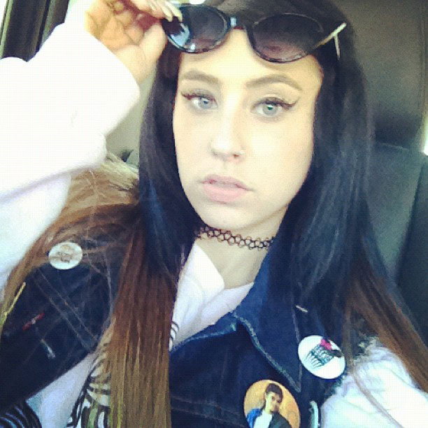 Kreayshawn Straight Black Ombr 233 Hairstyle Steal Her Style