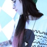 kreayshawn-pink-ombre-hair