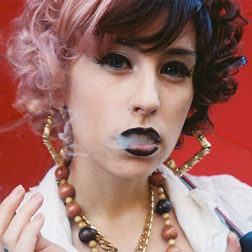 Kreayshawn S Hairstyles Amp Hair Colors Steal Her Style