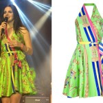 Lana Del Rey: Equestrian Print Dress
