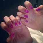 leigh-anne-pinnock-triangle-print-nails
