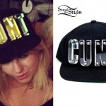 Little Boots: Acrylic 'Cunt' Snapback