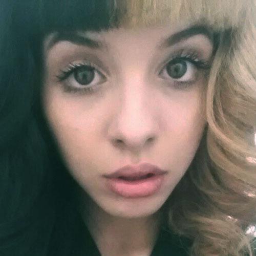 Melanie Martinez Makeup Taupe Eyeshadow Amp Mauve Lipstick