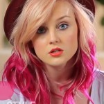 perrie-edwards-blonde-pink-hair