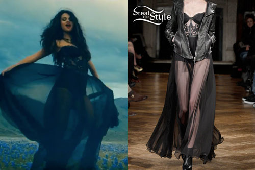 Selena Gomez: 'Come & Get It' Dress