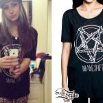 Allison Green: Pentagram Bones T-Shirt