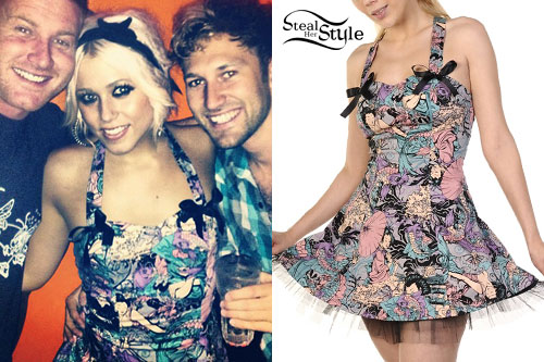 Amelia Lily: Japanese Print Dress