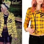 Amelia Lily: Yellow Plaid Jacket