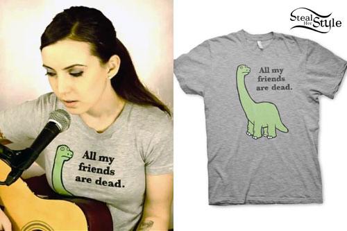 Billy The Kid: Dinosaur T-Shirt