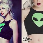 Brooklyn Allman: Alien Crop Top