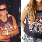 Cassie: Tiger Galaxy Muscle Tee