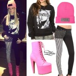 Chanel West Coast: 'Trust No Bitch' Pullover Outfit