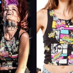 Elisabetha Rosnowski: Comic Book Crop Top