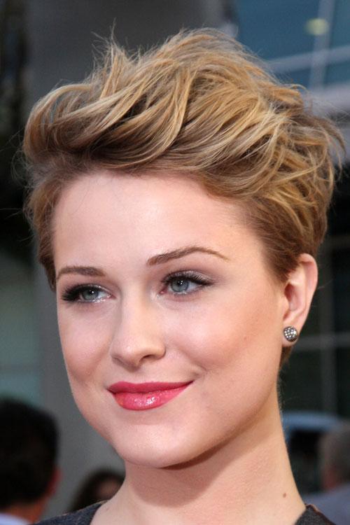 Evan Rachel Wood short hair