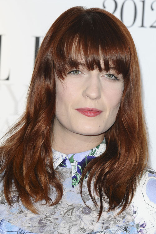 Florence Welch U0026 39 S Hairstyles  U0026 Hair Colors
