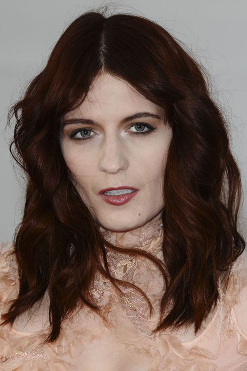 Florence Welchs Hairstyles Hair Colors Steal Her Style