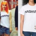 Hayley Williams: Nashville Boots T-Shirt